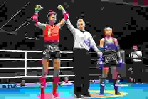 Đánh bại võ sĩ Thái Lan, Bùi Yến Ly giành HCV Muay thế giới