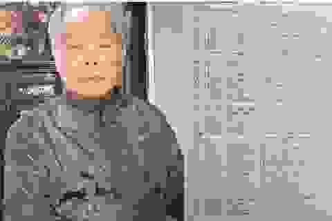 """PGS.TS Bùi Hiền bất ngờ """"trình làng"""" phần 2 đề xuất cải cách """"Tiếq Việt"""""""