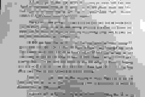 Vụ Chủ tịch xã trúng đạn: Công an huyện Nghi Lộc chính thức lên tiếng