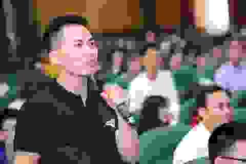 """Sinh viên khởi nghiệp thành công phải biết """"nhìn ra cơ hội kiếm tiền"""""""