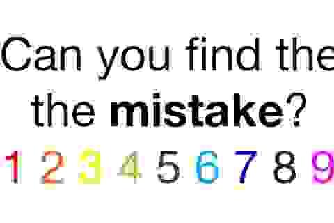 Đáp án câu đố tìm lỗi trong… câu đố