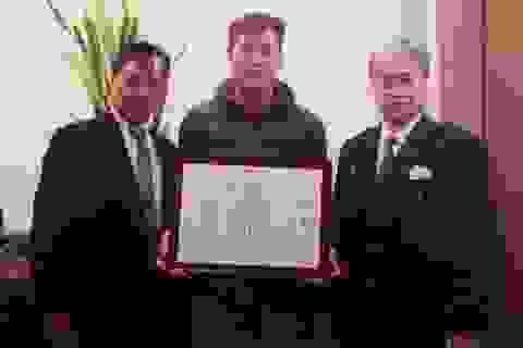 8X Việt cứu người đêm Giáng sinh được vinh danh tại Nhật