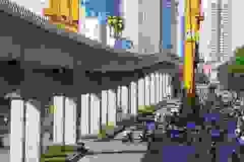 Tháng 9 năm nay, chạy thử đường sắt trên cao Cát Linh - Hà Đông