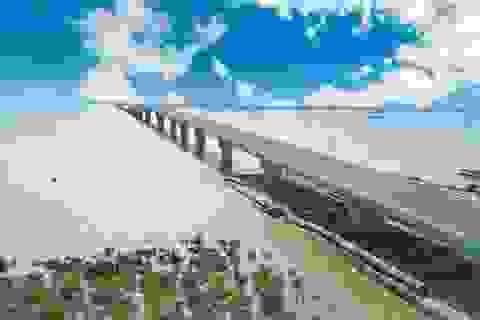 """Cầu vượt biển dài nhất Việt Nam bị """"bắt lỗi""""!"""