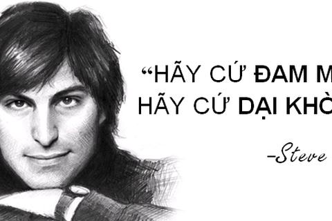 """Những câu nói truyền cảm hứng """"bất hủ"""" của Steve Jobs"""