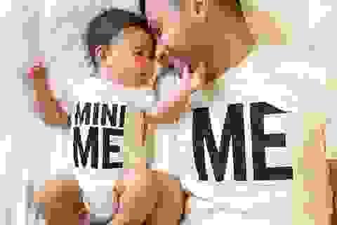 """""""Thả tim"""" cho những hình ảnh siêu dễ thương của cha và con trai"""