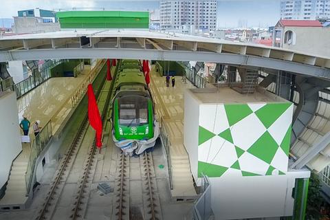 """""""Phá sản"""" kế hoạch chạy thử tàu đường sắt Cát Linh - Hà Đông"""
