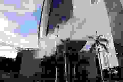 Diễn tập chữa cháy tòa nhà Trung tâm hành chính Đà Nẵng