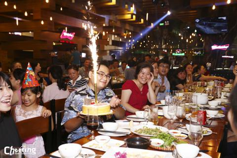 Nhà hàng đoạt giải Kiến trúc A+ Thế giới chào đón sinh nhật tuổi thứ 3