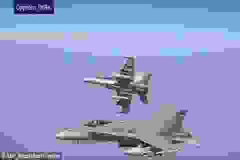 Chiến đấu cơ Australia xóa sổ nhà máy sản xuất bom của IS