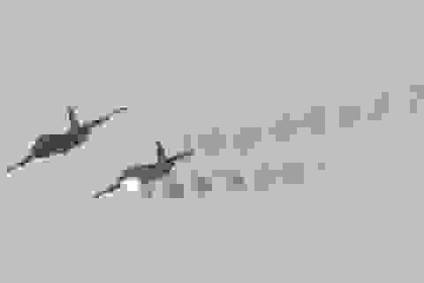Chiến đấu cơ Nga dội bom tuyến đường cung cấp dầu của IS ở Syria