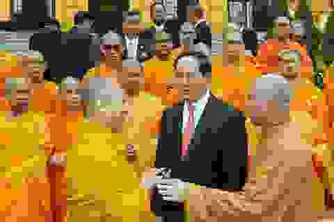 Chủ tịch nước tiếp đại biểu Việt kiều và Phật giáo An Nam tông tại Thái Lan
