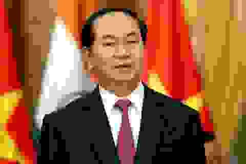 Chủ tịch nước Trần Đại Quang đánh giá cao Giải thưởng Nhân tài Đất Việt