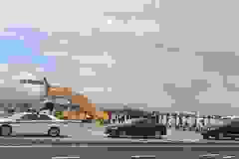 Sân bay Đà Nẵng nhộn nhịp các chuyến chuyên cơ về dự APEC