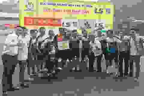 CLB phóng viên Thể thao vô địch hạng B giải bóng đá Hội nhà báo TPHCM 2017