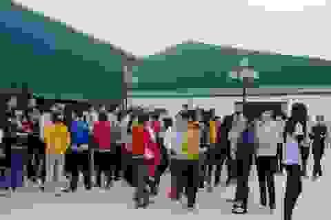 Thanh Hóa: Hàng trăm công nhân đình công đòi quyền lợi