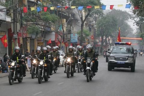 Hành hung tổ cảnh sát cơ động, một đối tượng bị bắt giữ