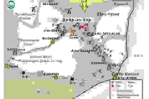 Trận chiến Deir Ezzor: Syria nguy ngập, Mỹ đoạt mỏ dầu?