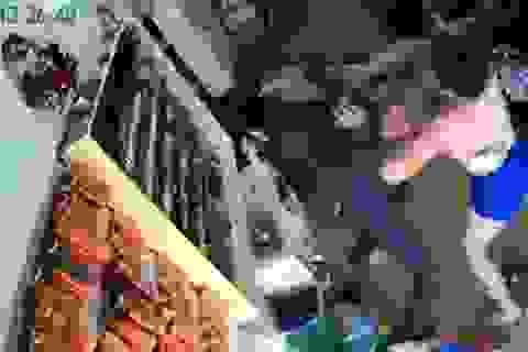 Hà Nội: Nữ chủ tiệm nail đánh văng súng tên cướp