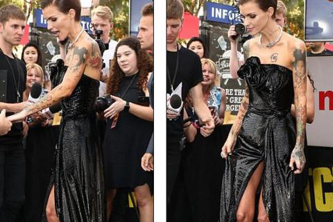 Sốc với dáng siêu gày của người mẫu Úc