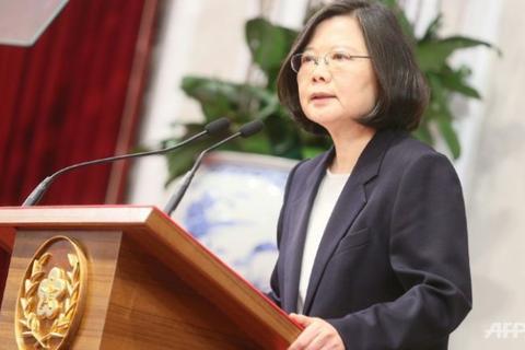 Lãnh đạo Đài Loan lên đường đến Mỹ