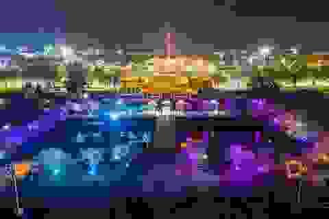Trải nghiệm những khung cảnh tuyệt vời ở Đại Nội về đêm