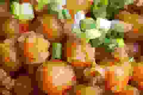 Biến tấu với món đậu hầm xào thịt đưa cơm