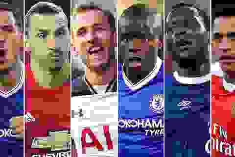 Đề cử cầu thủ xuất sắc nhất Premier League: Ibrahimovic đấu Hazard