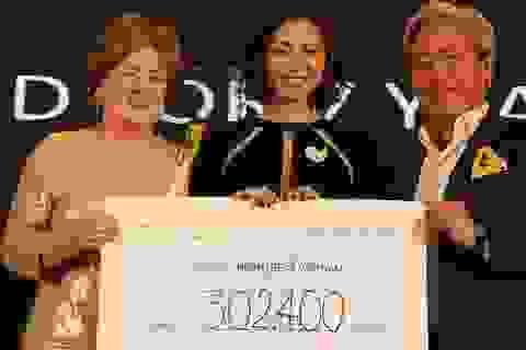 Ngô Thanh Vân quyên góp cứu được 252 trẻ em bị tim bẩm sinh