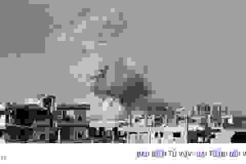 Quân đội Syria và đồng minh tăng cường dội bom phe đối lập ở Dera'a