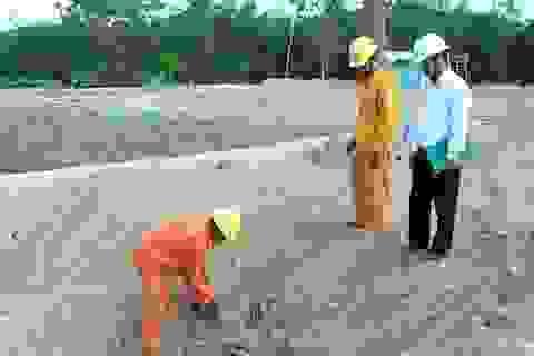 Doanh nghiệp cố tình xây dựng cây xăng lấn đường dây điện 22KV!