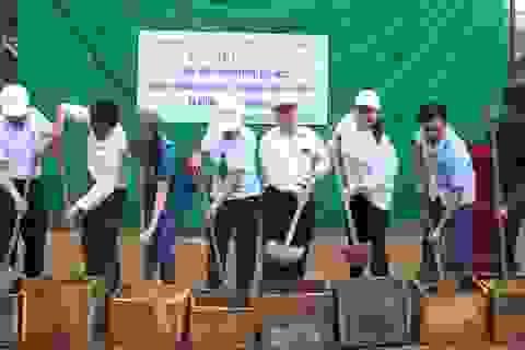 Khởi công xây dựng công trình phòng học Dân trí tại Điện Biên