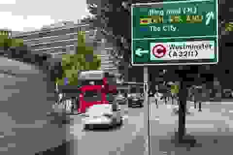 Chính phủ Anh lên kế hoạch áp thuế cao với xe chạy diesel