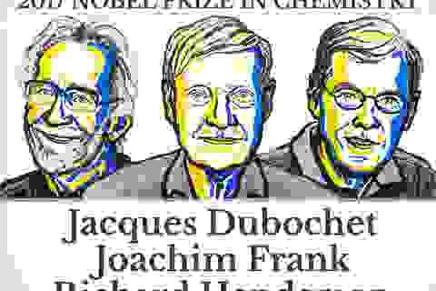 Nobel Hóa học 2017 gọi tên 3 nhà khoa học