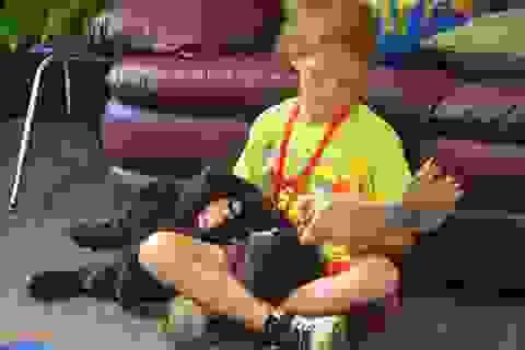 Đọc sách cùng chó giúp học sinh cải thiện kỹ năng đọc