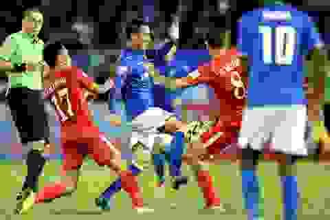 Đội bóng của Công Vinh may mắn giành điểm trước SL Nghệ An