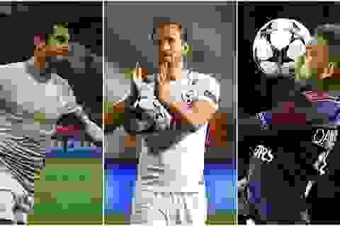 11 ngôi sao hay nhất ở lượt trận thứ hai vòng bảng Champions League