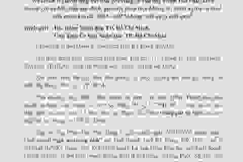 Vụ chung cư Kỳ Đồng: Cư dân cầu cứu Chủ tịch UBND TP Hồ Chí Minh!