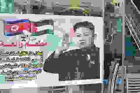 Người hâm mộ nhiệt thành của ông Kim Jong-un ở dải Gaza