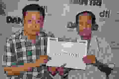 Gần 196 triệu đồng đến với 3 đứa trẻ có bố mẹ mất vì ung thư phổi