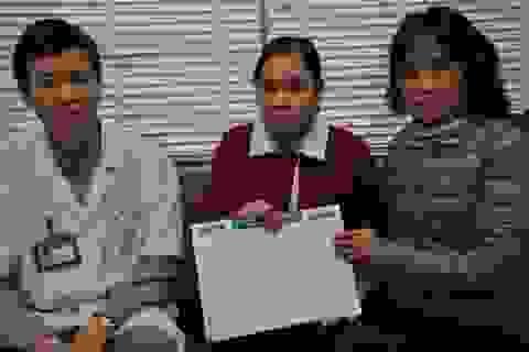 Hơn 58 triệu đồng đến với em Lữ Thị Xuân Yến