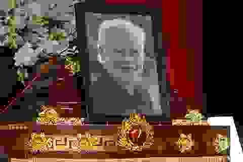 Bí thư Đinh La Thăng viếng PGS - nhạc sĩ Ca Lê Thuần