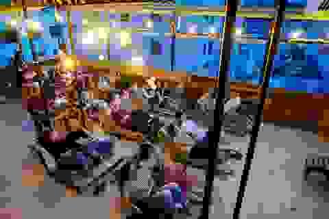 Rạp chiếu phim ngoài trời độc đáo thu hút giới trẻ Sài Gòn