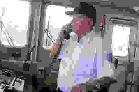 Vị thuyền trưởng vượt sóng cứu ngư dân trên biển