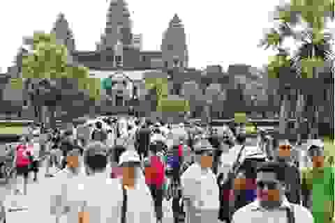 Việt Nam dẫn đầu về lượng du khách tới Campuchia liên tiếp trong 8 năm