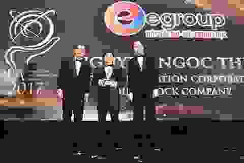 Chủ tịch Egroup Nguyễn Ngọc Thủy nhận Giải thưởng Doanh nhân Châu Á
