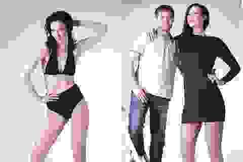 Thú vị cô gái Nga có đôi chân dài nhất nhì thế giới