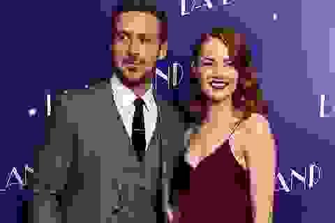 """Cặp sao của """"La La land"""" đẹp đôi trên thảm đỏ"""