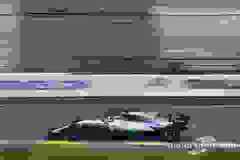 Lewis Hamilton có pole đầu tiên trong mùa giải F1 2017