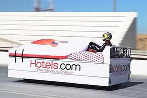 Kỷ lục về chiếc giường ngủ... chạy nhanh nhất thế giới bị phá vỡ